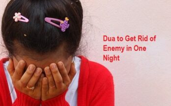 dua to get rid of enemy in one night